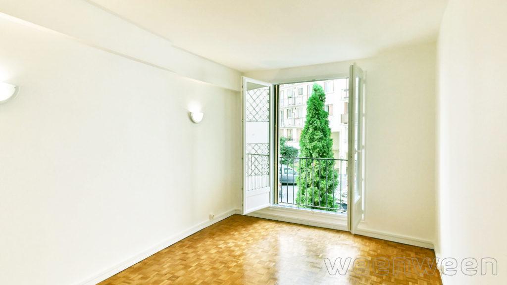 Paris 15 Vaugirard Versailles 3 pièces 54m2 1er étage sur cour 523000€