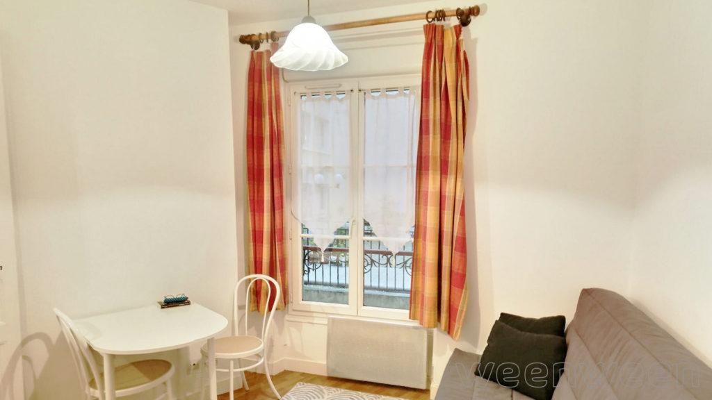 Paris 18 Jules Joffrin Studio 16m2 1er étage sur cour 195000€