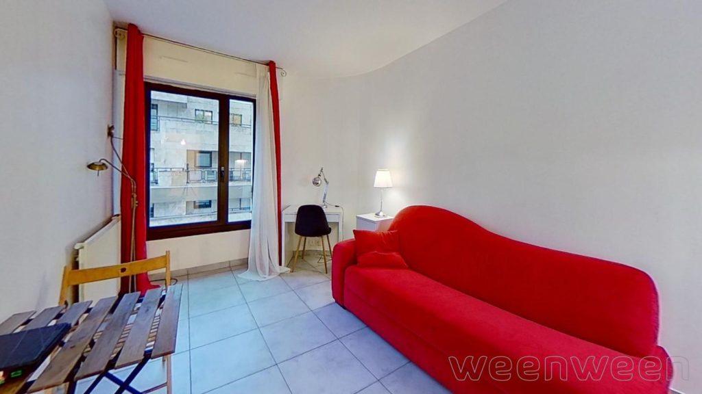Levallois-Perret Pont de Levallois Ile de la Jatte Studio 18 m2 5ème étage sur cour 198000€